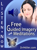 Dr. Miller's Free Guided Imagery and Meditation for Stress Management, Anxiety Relief, Insomnia, Depression image