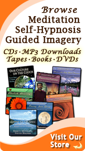 Dr. Miller's Online Store of Guided Imagery, Meditation & Self-Hypnosis CDs & MP3 Downloads Sidebar Image